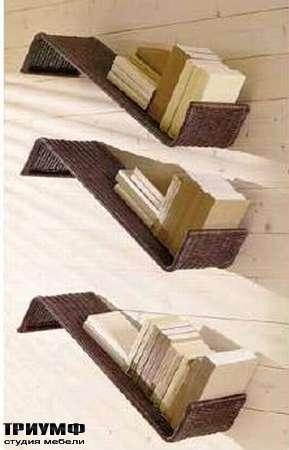 Итальянская мебель Varaschin - Полки плетенные Fly