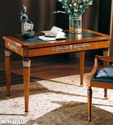 Итальянская мебель Colombo Mobili - Рабочий стол в имперском стиле арт. 364 кол. Perosi