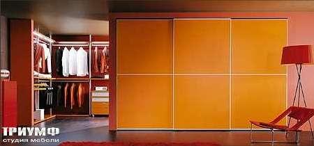 Итальянская мебель Map - Шкаф Inside Rilievo, стекло, алюминевая рамка