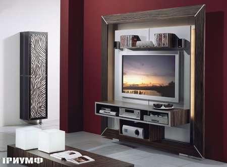 Итальянская мебель Vismara - стенка под тв