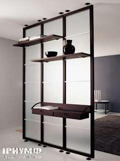 Итальянская мебель Longhi - стенка Quinta