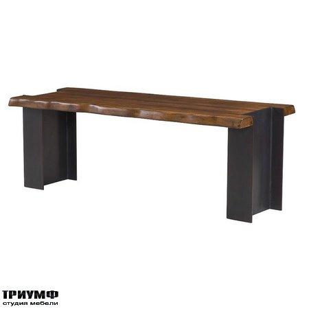 Американская мебель Hammary - I Beam Bench
