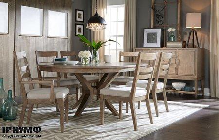 Американская мебель Legacy Classic - Bridgewater Round Leg Table Complete