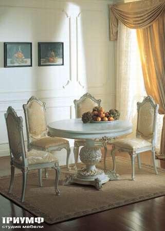 Итальянская мебель Silik - Стол на 1-ой ноге Demetra