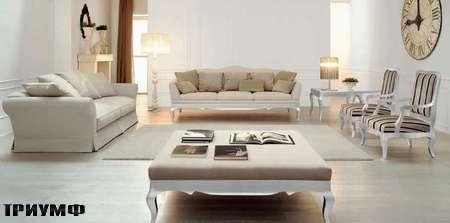 Итальянская мебель Valmori - диван Elisabeth в ткани