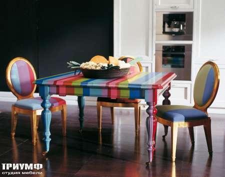 Итальянская мебель Luciano Zonta - Giorno Tavoli стол Tresor