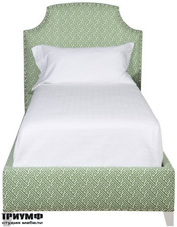 Американская мебель Vanguard - Bonnie Bruno Twin Bed