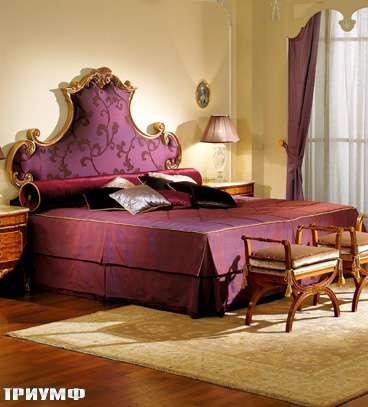 Итальянская мебель Colombo Mobili - Кровать арт.504 кол.Boccherini