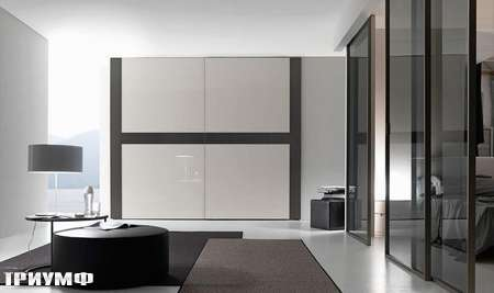 Итальянская мебель Presotto - шкаф Game с раздвижными дверьми