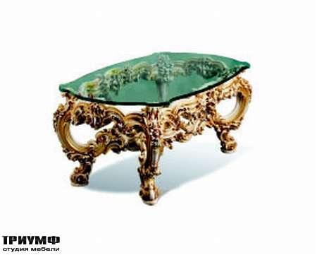 Итальянская мебель Silik - Столик в позолоте