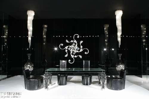 Итальянская мебель Cornelio Cappellini - Интерьер в черном лаке