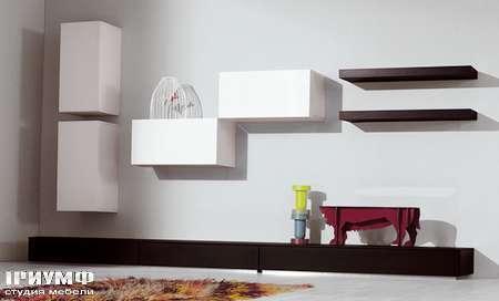 Итальянская мебель Pianca - Стенка модерн Spazio