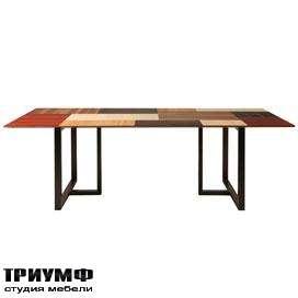 Итальянская мебель Morelato - Стол с наборной столешницей