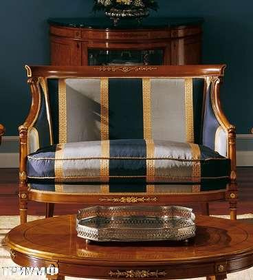 Итальянская мебель Colombo Mobili - Диван 2х местный арт.119.Р2 кол. Puccini