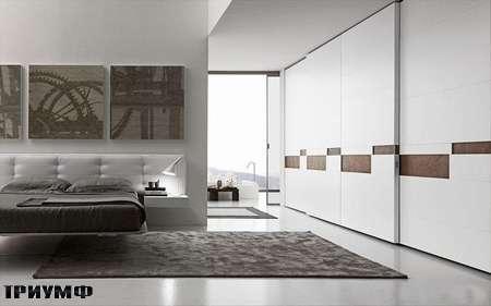 Итальянская мебель Presotto - шкаф Split с распашными дверьми