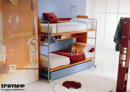 Итальянская мебель Di Liddo & Perego - Кровать двухярусная Double