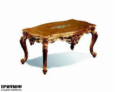 Итальянская мебель Silik - Столик прямоугольный Dedalo