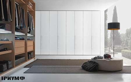 Итальянская мебель Presotto - шкаф с распашными дверьми Liscia