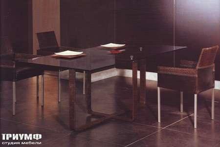 Итальянская мебель Rugiano - Стол Nokido прямоугольный