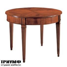 Итальянская мебель Morelato - Круглый стол на 4-х ногах