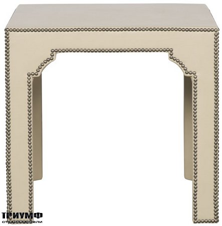 Американская мебель Vanguard - Bingham Upholstered Side Table