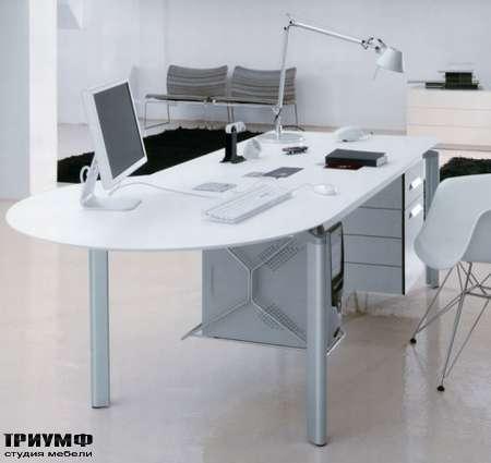 Итальянская мебель Albed - Worky - письменный стол