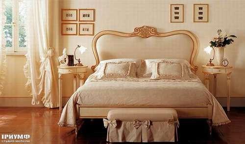 Итальянская мебель Giusti Portos - Спальня с тканевым изголовьем Palmares