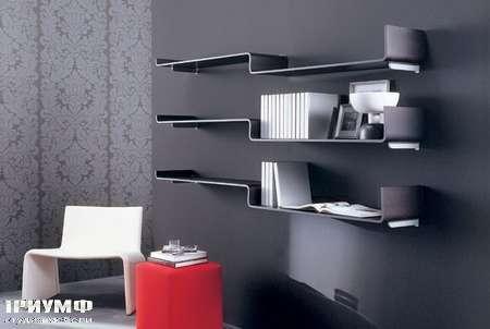 Итальянская мебель Porada - Книжные полки Revers