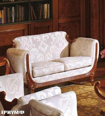 Итальянская мебель Colombo Mobili - Диван 2х местный арт.278.Р2 кол. Vivaldi