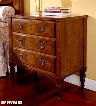 Итальянская мебель Colombo Mobili - Столик прикроватный арт.219 кол. Ponchielli