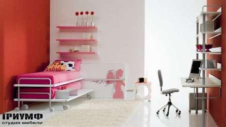 Итальянская мебель Di Liddo & Perego - Кровать на металлическом каркасе, Short