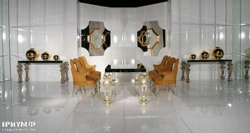 Итальянская мебель Cornelio Cappellini - Стол, зеркала