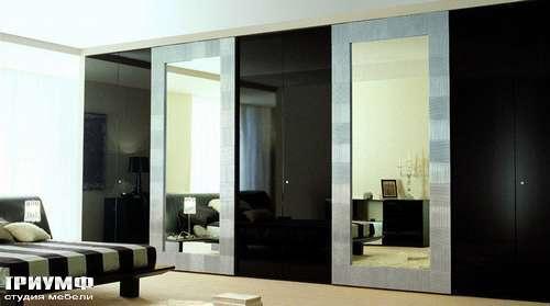 Итальянская мебель Besana - Шкаф с зеркальными дверьми