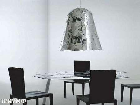 Итальянская мебель Edra - светильник зеркальный Campana