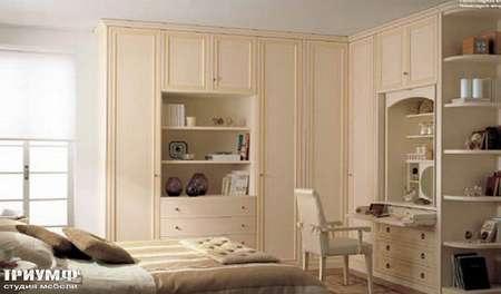 Итальянская мебель Ferretti e Ferretti - Угловой шкаф с секретером, Morfeo