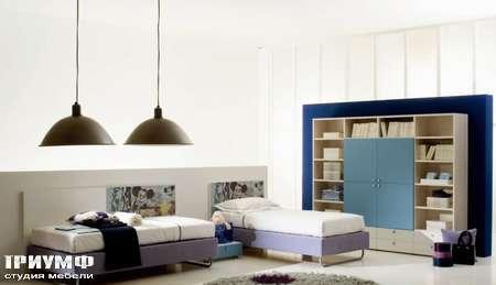 Итальянская мебель Di Liddo & Perego - Кровать односпальная Small