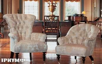 Английская мебель Duresta - кресло Lanhydrock chair и полукресло Belton
