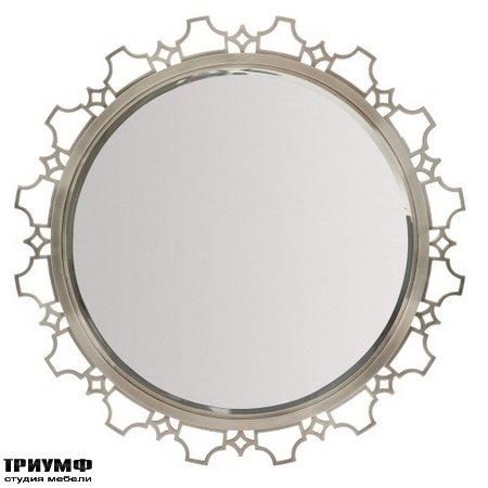 Американская мебель Bernhardt - Domaine Blanc Round Mirror
