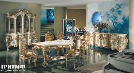 Итальянская мебель Silik - Комод с гнутыми дверками  Minerva