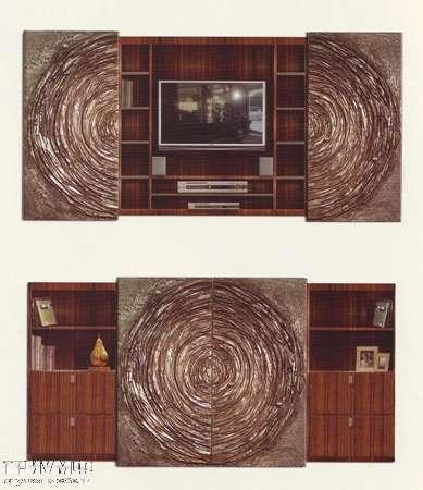 Итальянская мебель Rugiano - Стенка Rose