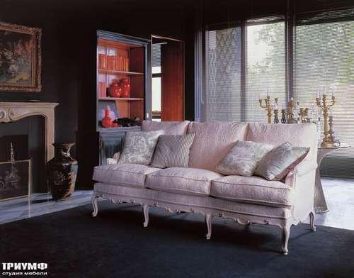 Итальянская мебель Salda - Диван  cod: 8506 / партал для камина Cod- 6935