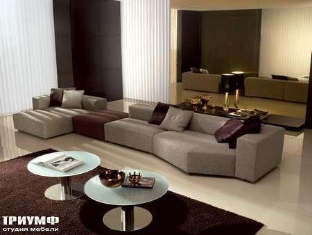 Итальянская мебель CTS Salotti - Диван модульный модерн, модель Libero