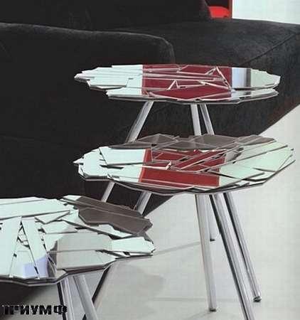 Итальянская мебель Edra - столик Brazilia