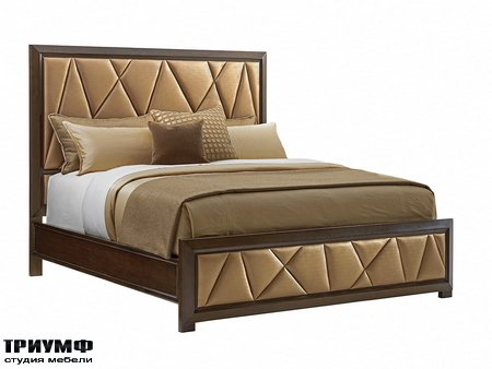 Американская мебель Lexington - Spectrum Upholstered Panel Bed