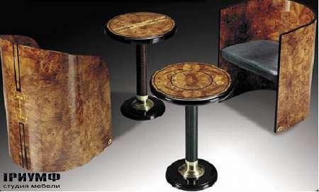 Итальянская мебель Formitalia - Барные стулья и столик Club