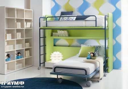Кровать двухэтажная, коллекция Tall