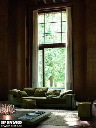 Итальянская мебель Ivano Redaelli - Диван трехместный пуховой