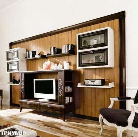 Итальянская мебель Flai - стенка под тв, ар деко hampshire