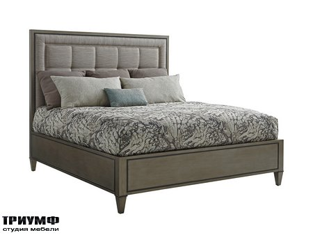 Американская мебель Lexington - St Tropez Upholstered Panel Bed