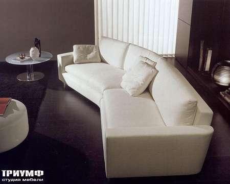 Итальянская мебель CTS Salotti - Диван стиля модерн, с углом 135 градусов, модель Link